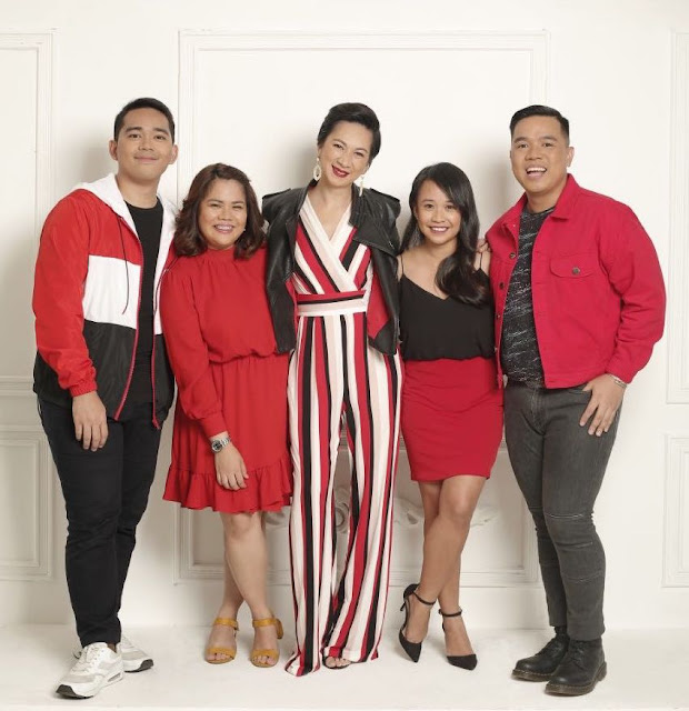 The passionate and incredible REDsters of Red Havas Philippines (L-R): Marco Grajo, Account Manager; Jookie Radoc, Media Relations Manager; Charisse Vilchez, Business Unit Director; Janessa Tek-ing, Senior Account Manager and Cid Santillan, Account Director.