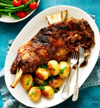 Roast Lamb Shoulder