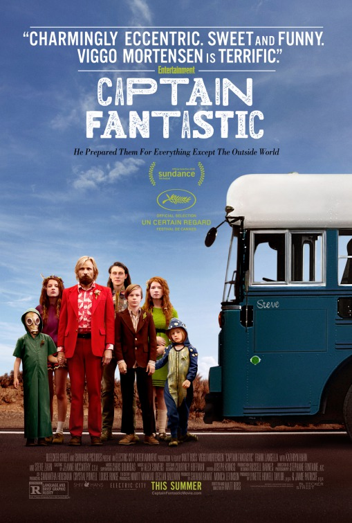 Captain Fantastic movie poster