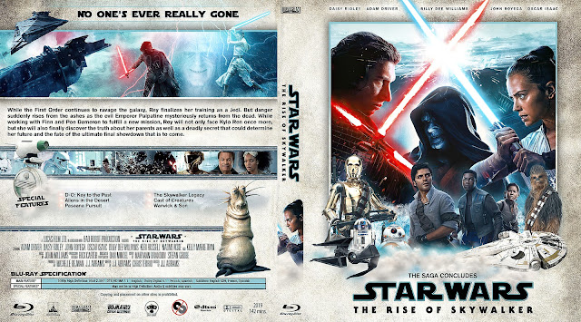 Star Wars Episode Ix The Rise Of Skywalker 2019 Bluray Cover Cover Addict Free Dvd Bluray Covers And Movie Posters