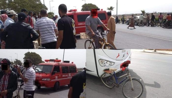 عاجل: حافلة تفجر رأس سائق دراجة هوائية بمدينة أولاد تايمة