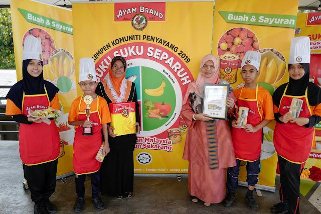 Kempen Penyayang Komuniti Ayam Brand™ 2019 Bawa Mesej Nutrisi Seimbang Ke Negeri Pahang untuk Menangani Masalah Obesiti dalam Kalangan Kanak-Kanak