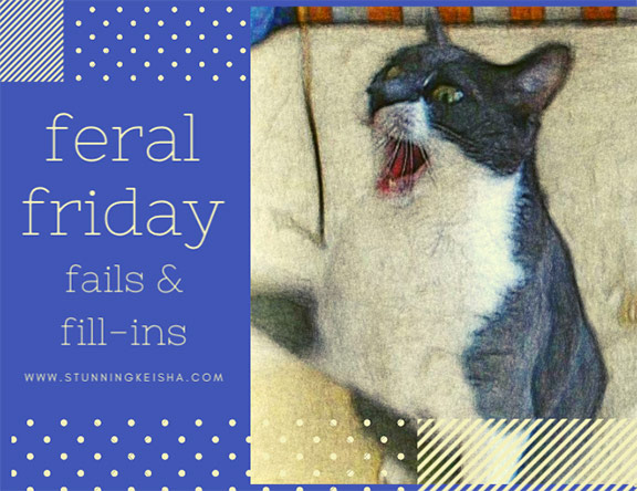 Feral Friday Fails & Fill-ins