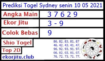 Bocoran Togel Sydney 10 Mei 2021