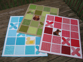 Tic Tac Who? quilts by Canuck Quilter Designs