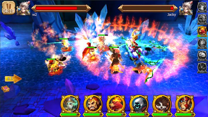 Trận chiến Heroes 3D huyền thoại Mod
