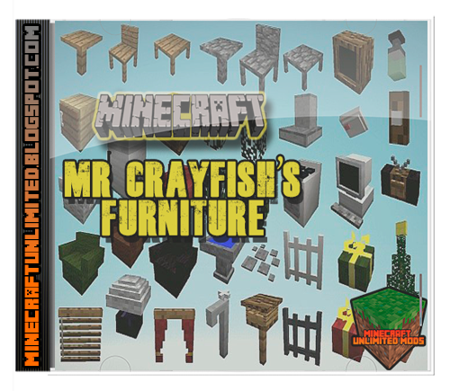 Mrcrayfish´s Furniture Mod Minecraft