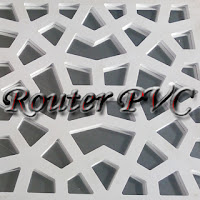 jasa cutting pvc, jasa router pvc