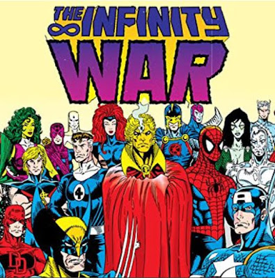 Who wrote the Infinity Wars comic series?