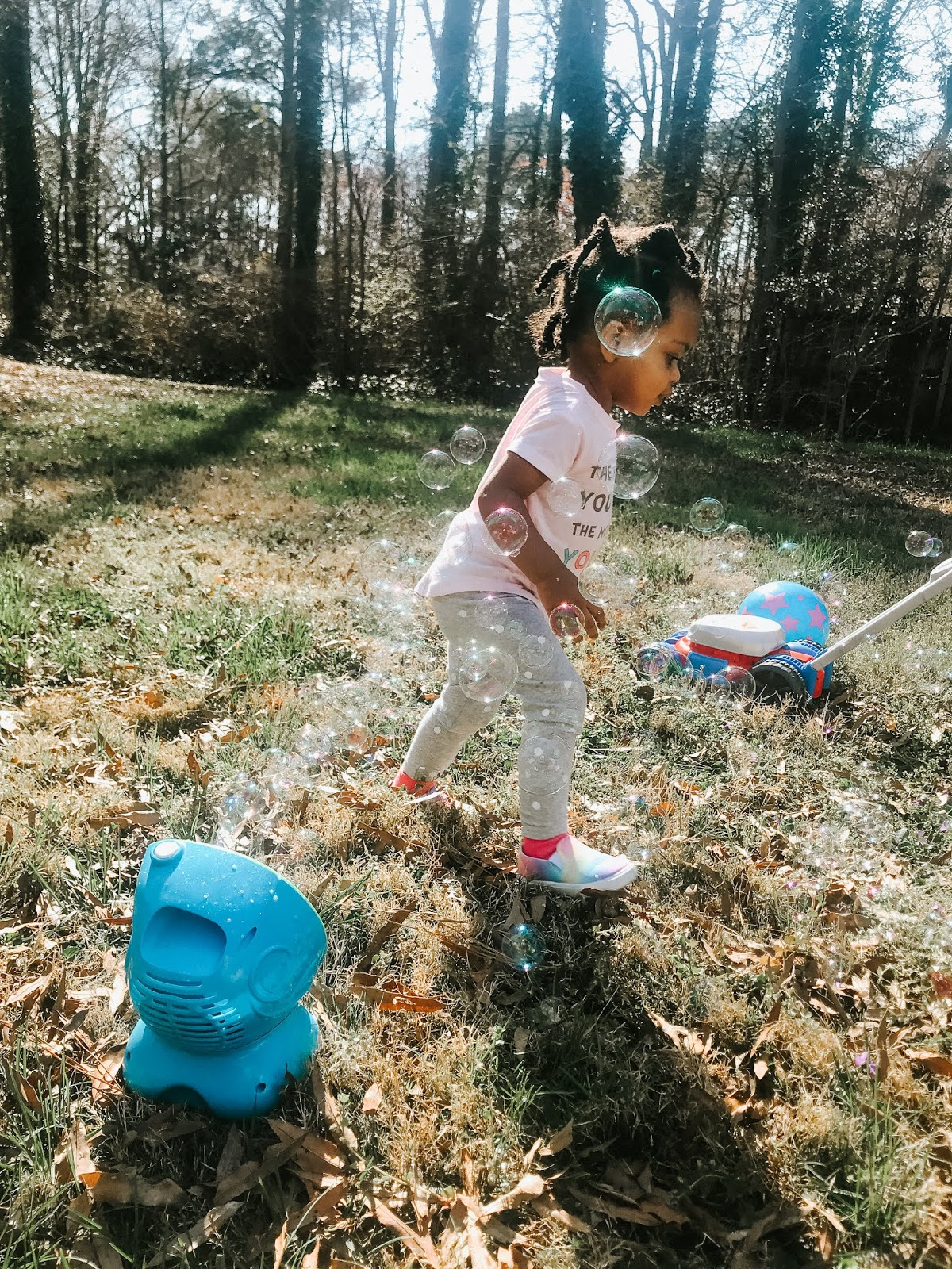 With the taste of spring weather we got this past month, it's only natural that getting out of the house and enjoying the warmer temperatures is at the front of my mind. This week I'm sharing what's on McKenna's spring bucket list featuring 30 great ideas to get out and about with your little one this season! #springbucketlist #springfun #springoutings #motherhood