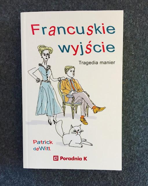"""Recenzje #210 - """"Francuskie wyjście"""" - okładka książki - Francuski przy kawie"""