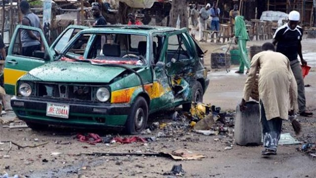 Bomb attack kills eight in Nigeria's Maiduguri