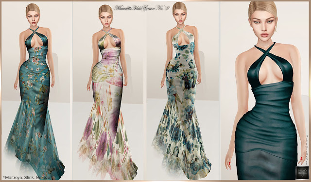 SASCHA'S DESIGNS - Maurelle HUD No. 2 Gown @ On9