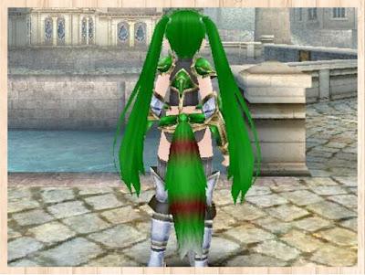 テイルチャーム 緑1