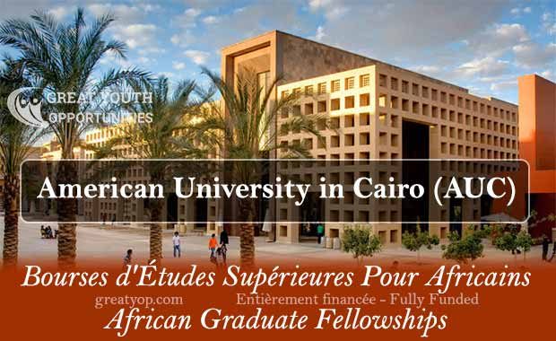 The American University in Cairo (AUC) African Graduate Fellowships 2021/2022 for African Masters Students