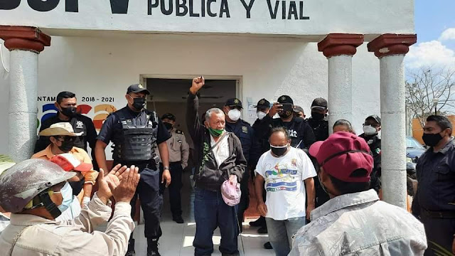 Campesino denuncia que pretenden despojarlo de sus tierras de Sembrando Vida. Baca TV y te siente