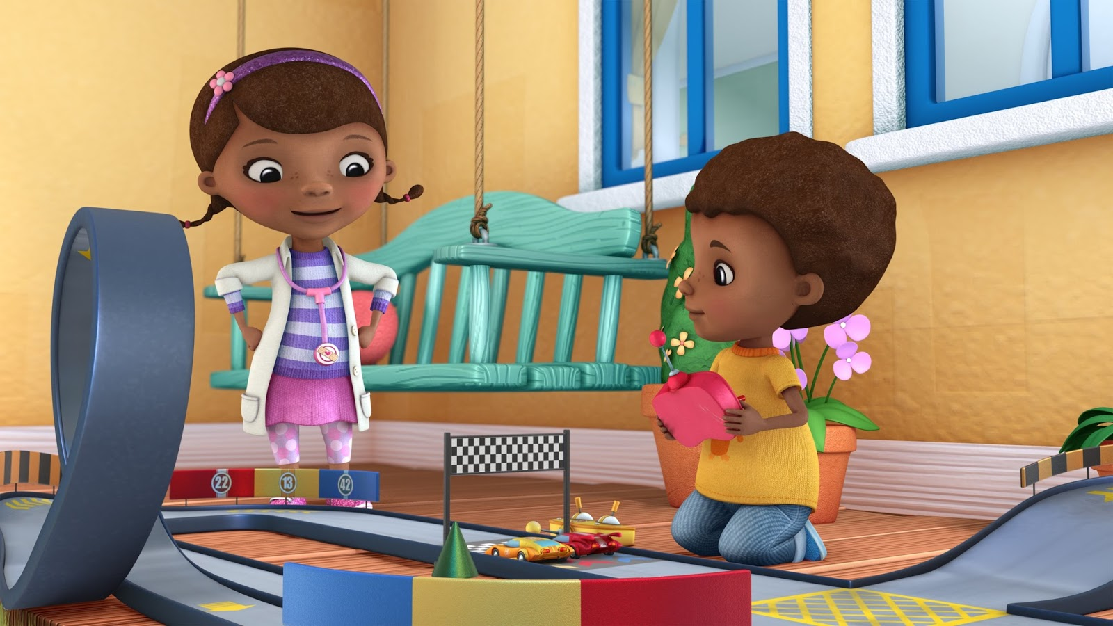 Con En Doctora Juguetes Nuevos Febrero Disney Por Sigue Juniors IYHW29ED