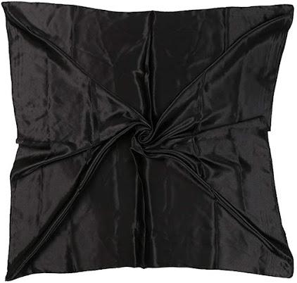 Cheap Black Satin Scarves