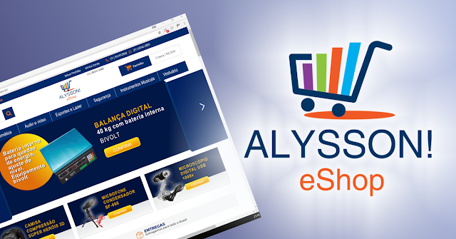 Loja virtual Alysson! eShop
