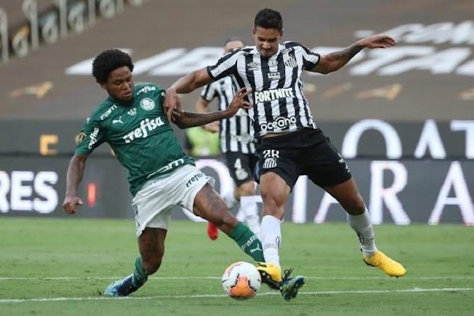 Com gol aos 98 do 2º tempo, Palmeiras vence Santos e é bi da Libertadores