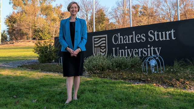 Ms Renée Leon is new Charles Sturt University Vice-Chancellor.