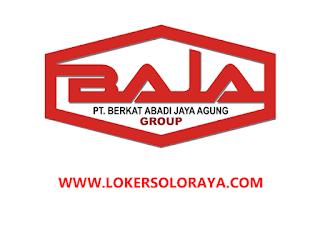 Loker Sukoharjo Bagian Marketing Keliling di PT Berkat Abadi Jaya Agung