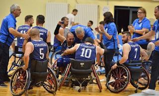 Πρωταθλήτρια Ευρώπης Η Εθνική Ομάδα Μπάσκετ Με Αμαξίδιο