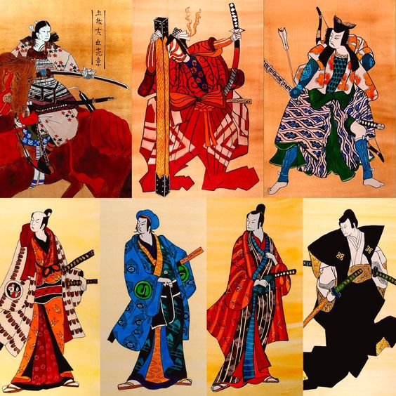 The Age of the Samurai Collection by Dora Hathazi Mendes