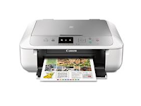 Canon PIXMA MG5751 is a classic example of a multifunctional inkjet device (MFP) designed for home use