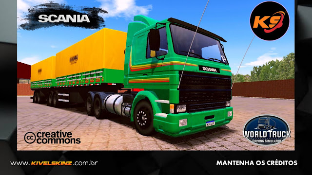SCANIA 113 FRONTAL - VERDE TOP