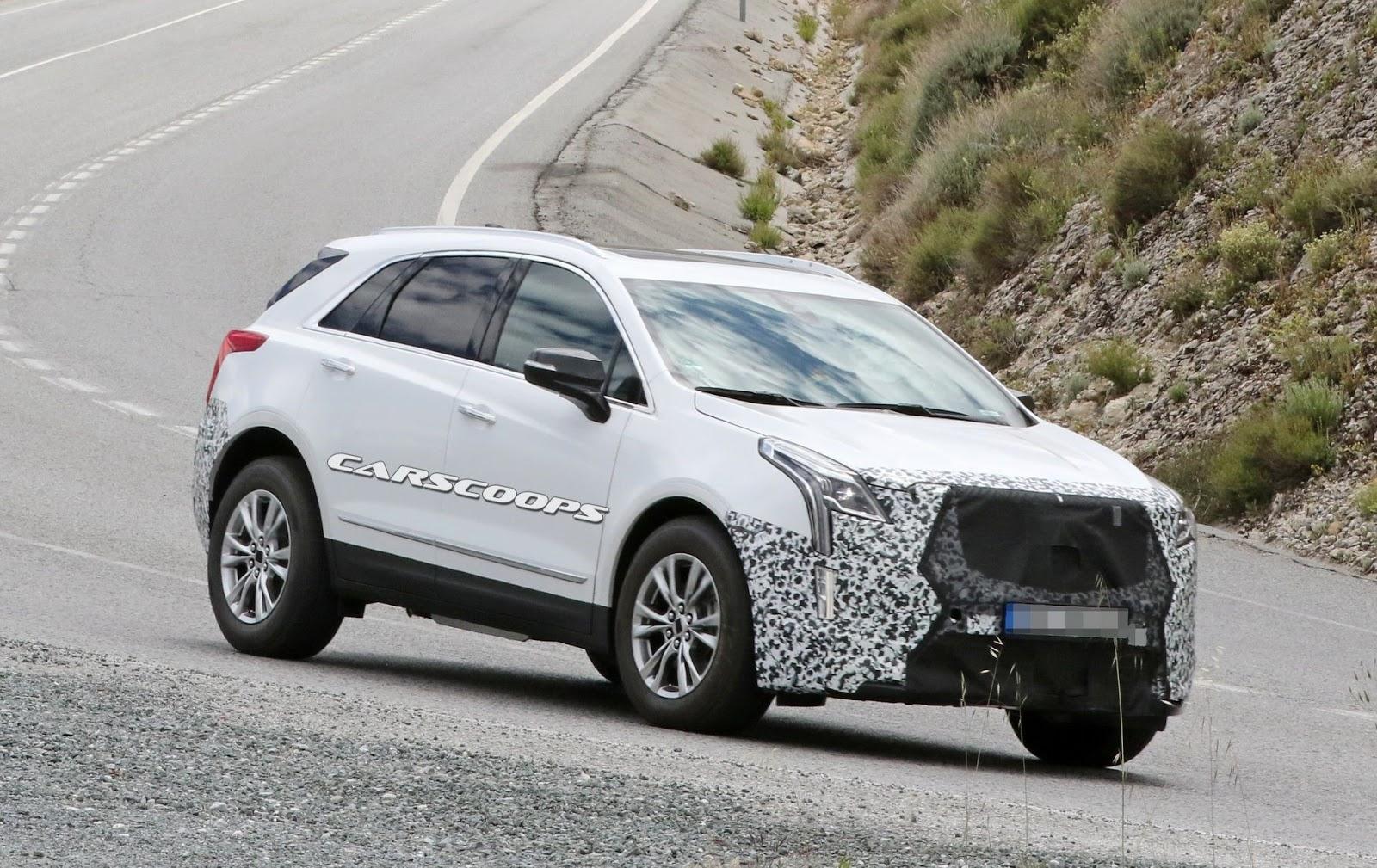 Spy Shots Cadillac Xt5 Research New
