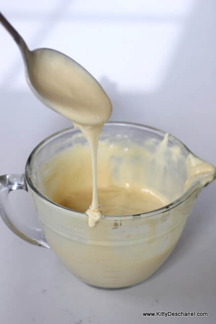 pancake batter with no eggs