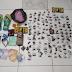 Casal suspeito de tráfico tenta fugir, mas é detido com drogas após denúncia em Serrinha