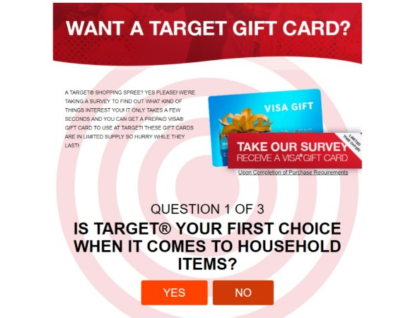 Win a target gift carf