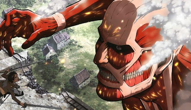 Ataque de Titas Shingeki no Kyojin