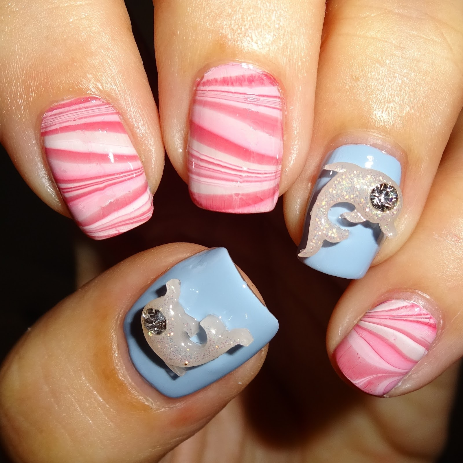 Wendys Delights 3d Dolphin Nail Art Charms From Charlies Nail Art