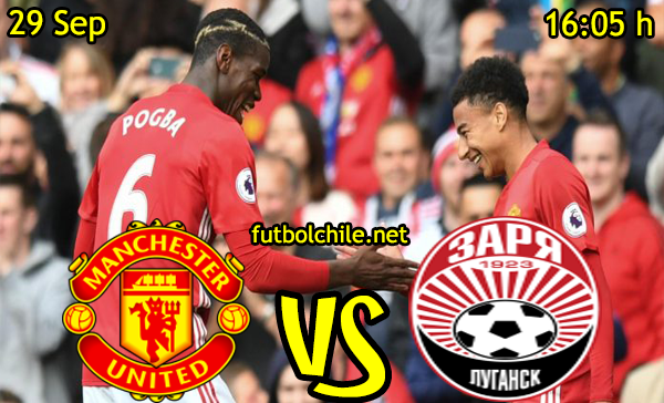 Ver stream hd youtube facebook movil android ios iphone table ipad windows mac linux resultado en vivo, online:  Manchester United vs Zarya Lugansk
