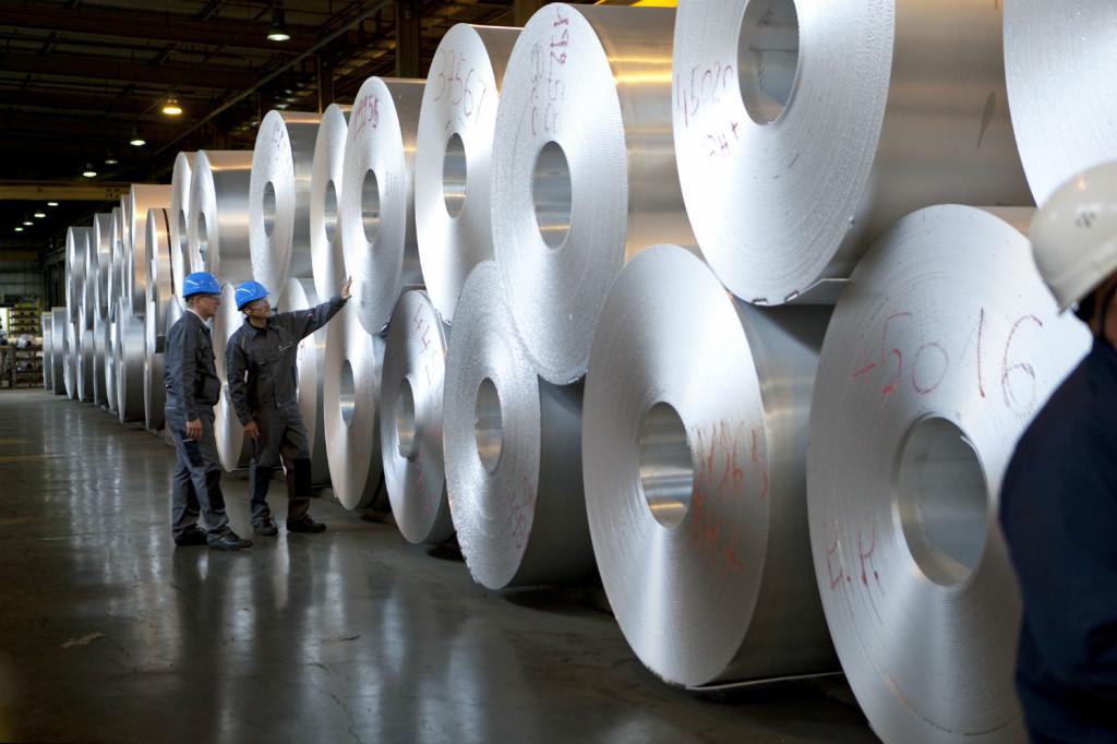 Manufacturing of aluminum foil