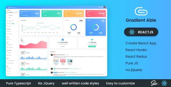 Best ReactJS Admin Dashboard Template