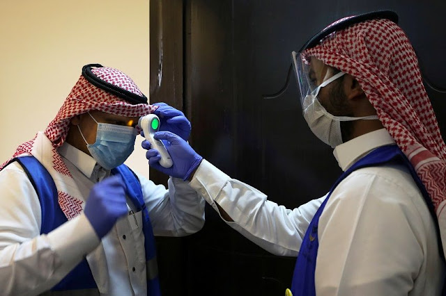 الصحة السعودية  10 وفيات و 2840 حالة إصابة جديدة بفيروس كورونا ، وتم علاج 1767 حالة اليوم السبت 16-5-2020