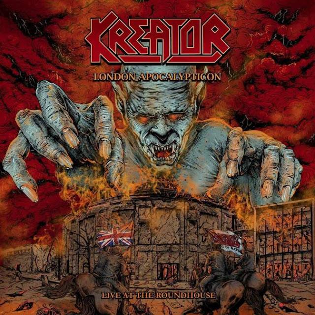 """Το βίντεο των Kreator για το """"Violent Revolution"""" από το album """"London Apocalypticon"""""""