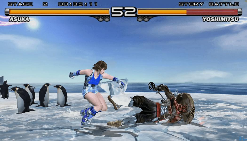 تحميل لعبة Tekken 5