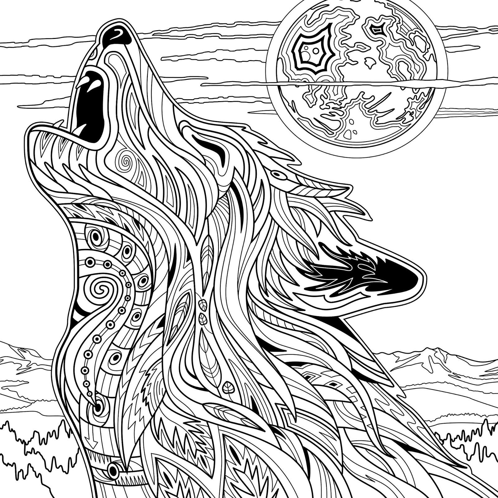 20 Desenhos Para Adultos Colorirem Imprimir