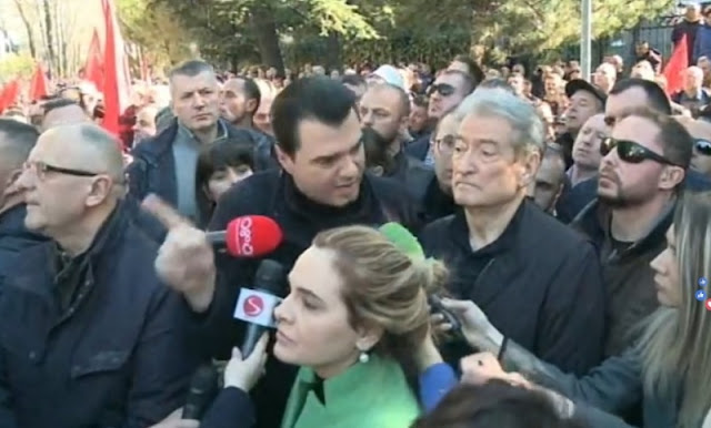 Spiropali: Sali Berisha and Lulzim Basha surely wants victims in their protests, so be careful...