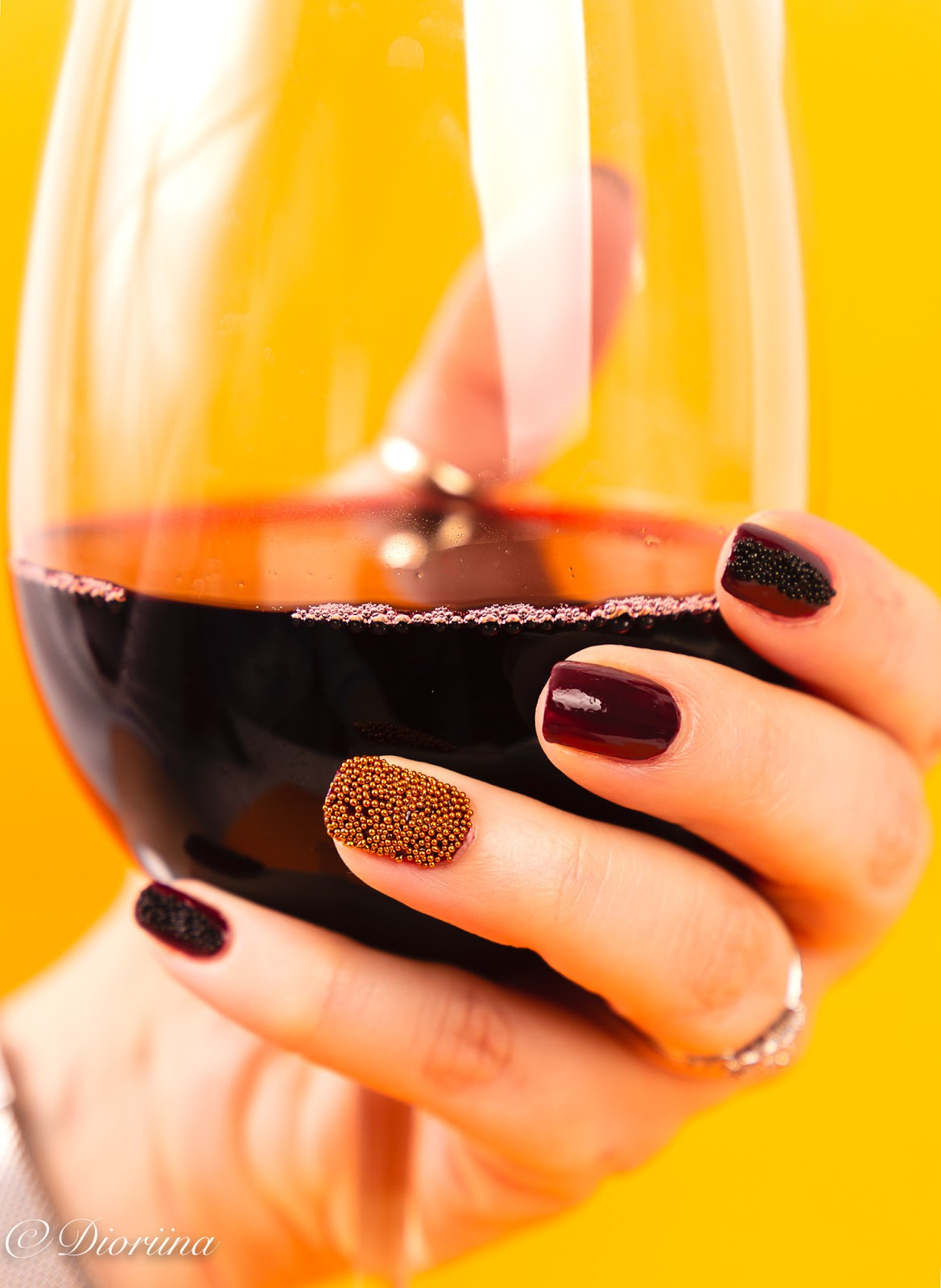 Viikonlopun kunniaksi lasi punaviiniä