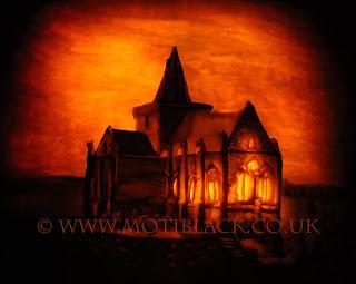 Pumpkin Carving of St Monans Church