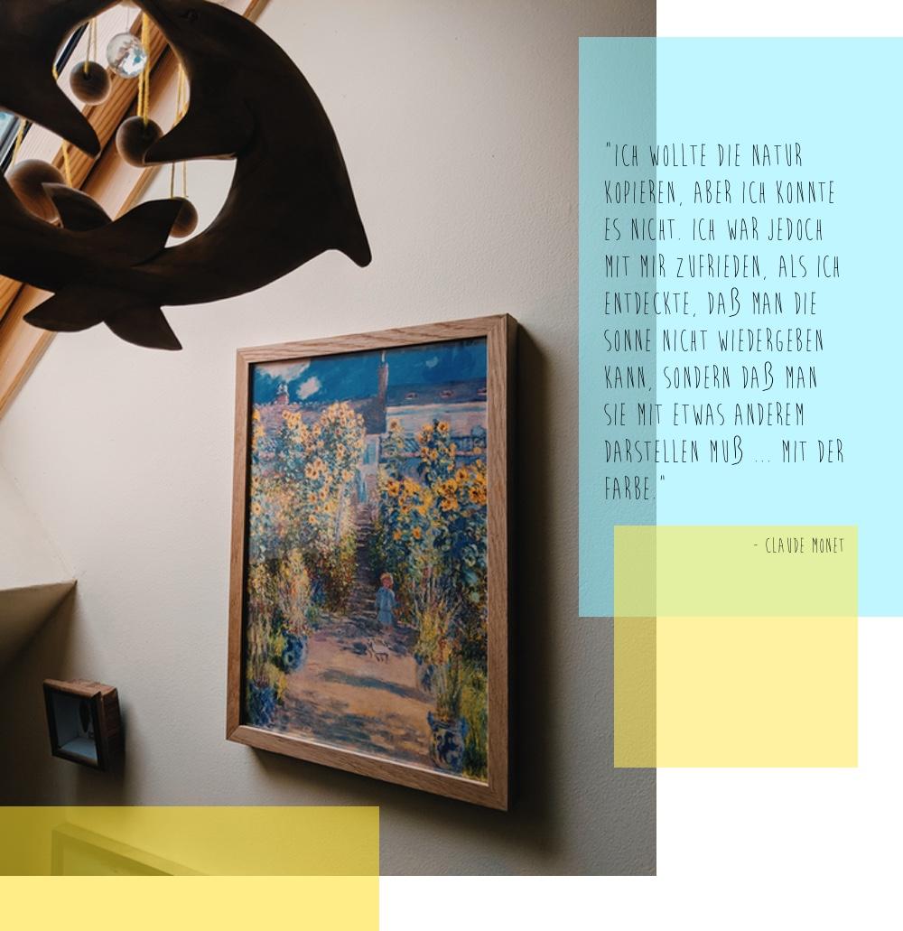 Schlaue Worte und schöne Bilder von Matisse, Monet und Dear Sam