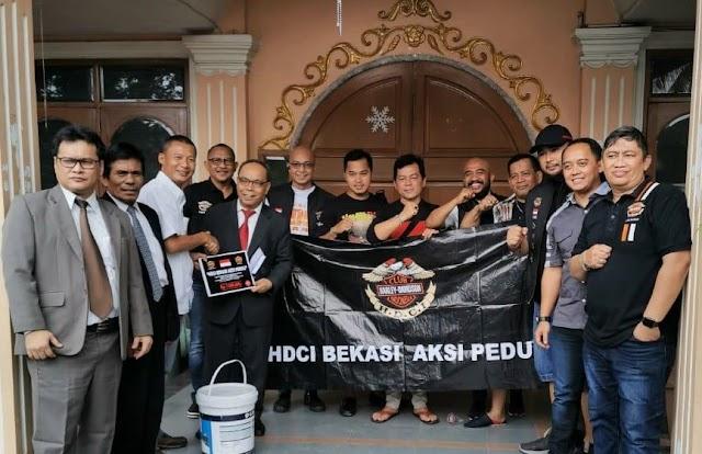HDCI Bekasi Lakukan Kegiatan Bakti Sosial Kepada Korban Banjir