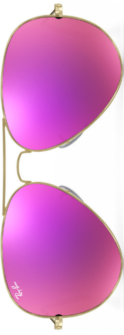 Ray Ban Aviator Magenta Flash