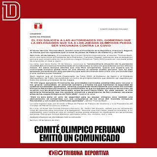 El Comité Olímpico Peruano